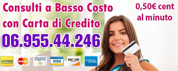 tarocchi a basso costo con carta di credito